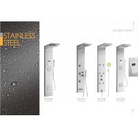 Cheap Star Rated Hotels Commercial Stainless Steel Shower Panels , Corner Shower Panel for sale