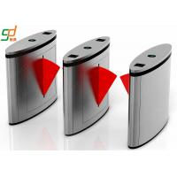 China Stainless Steel Flap Barrier Gate,Controlled Access Turnstile Entry Systems on sale