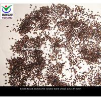 Cheap Good Hardness Brown Corundum Grit For Marine Hull Cleaning And Architectural Restoration for sale