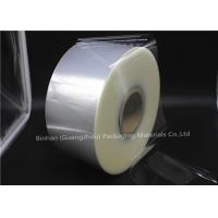 Double Side Bi Oriented Polypropylene Packaging Film Heat Sealable Clear Color