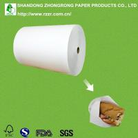 China greaseproof PE coated bleached kraft paper for food packaging on sale