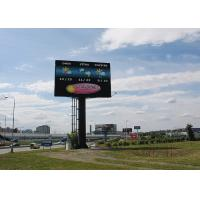 Cheap HD Video Wall P8 Outdoor Full Color LED Screen Waterproof environment friendly for sale