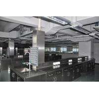 China Long Lasting Stainless Steel Lab Furniture Metal Lab Casework , Benches And Cabinets on sale