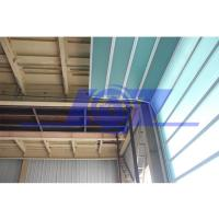 China Germany Technical Fiberglass Sound Isolation Panel Industrial Sectional Door on sale