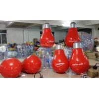 Cheap inflatable bulb  inflatable lamp bulb inflatable lamp globe for sale