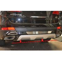 HYUNDAI GRAND SANTAFE Bumper Protector Bar Rear Guard With chrome
