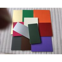 Cheap PVDF Paint Aluminum Composite Material Exterior Cladding Materials For Buildings for sale