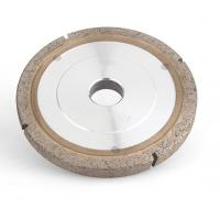 Cheap Flat Metal Bonded Diamond Grinding Wheels For Glass Edging And Profiling for sale