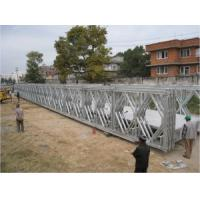 Cheap Multiple - Span Modular Steel Bridges DS Double Single Type Bailey Bridge For Highway for sale