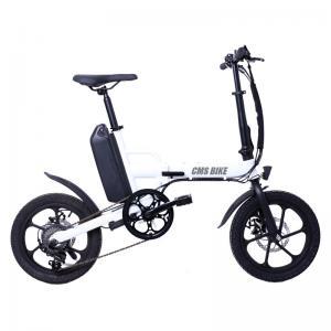 Cheap 250W Rear Drive 32KM/H Fat Tire Folding Electric Bike for sale