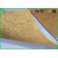 Cheap Stretching Resistance Kraft Liner Paper 400gsm 450gsm In Sheet / Roll Packing for sale