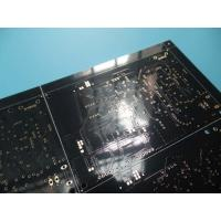 Cheap 2 Layer Black PCB 1.53-1.62mm Thick 42.02um Copper Thick FR -4 ITEQ 100% Test Pass wholesale
