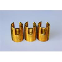 Cheap high quality and hot sales Customied self tapping threaded insert M3 M4 M5 M6 M8 M10 Brass inserts for sale
