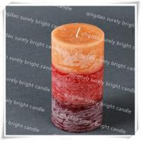 China 3layer pillar candle on sale