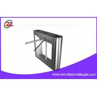 TCP / IP Tripod Full Height Turnstile Mechanical Rfid Control System