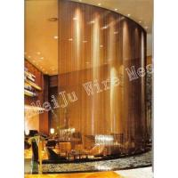 Metal Drapery Metal Curtain Ceilings Curtain Wall Fireplace Screens Wall Decoration Metal Coil