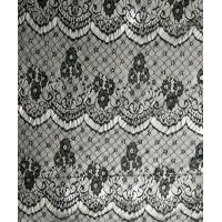 Cheap Soft Qmilch Black Lace Trim For Cotton Garment Clothing / Bags for sale