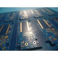 Cheap Matt Blue Solder Mask Double Sided PCB prototypes , pcb fabrication service wholesale
