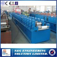 Cheap High Efficiency 37mm Shutter Making Machine , 7.5KW PU Roller Shutter Door Machine for sale