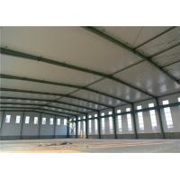 Cheap H Section Column Lightweight Steel Structure Clean Span Portal Frame Corrosion Resistance for sale