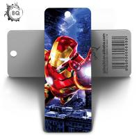 Cheap 5.8X15.5CM 3D Lenticular Bookmark With Display For Students / Kids for sale