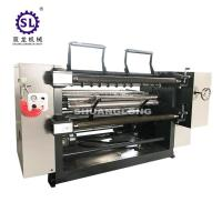Cheap PVC and PET Window Film Slitter with Automatic Tension , Paper Slitting Machine for sale