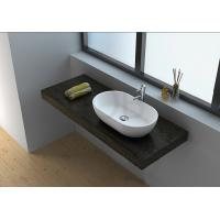 Cheap CK1004 professional resin stone boutique single table top basin bathroom sink for sale