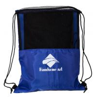 Cheap Cheap Promotional Mesh Polyester Football Drawstring Bag-HAD14018 for sale