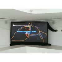 Cheap Indoor Curved LED Screen 4mm Pixel Pitch With Amazing Video Playing Visual Effect for sale