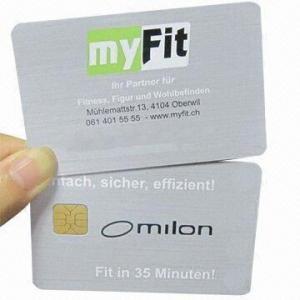 Cheap Original SLE5542 Contact Smart Cards, Suitable for Public Transportation for sale