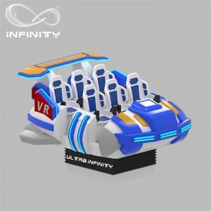 Cheap 6 Seats VR Motion Simulator Virtual Reality Cinema Entertainment Simulation Rides for sale