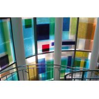 Cheap Sound Insulation Colored Glass Panels Extra Large For Bathroom for sale