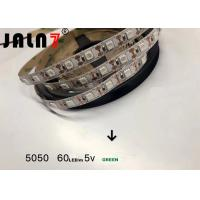 Cheap Commercial 5050 Led Strip Lights / Waterproof Color Changing Led Strip Lights for sale