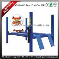 Cheap AT-440D 2.2kw Garage Car Lift , 4 Post Car Lifts For Four Wheel Alignment for sale
