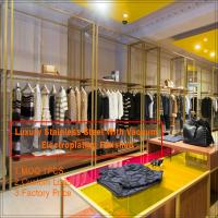 China Modern retail clothing apparel store interior design on sale