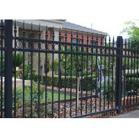 Buy cheap Steel Picket Security Garrison Fencing from wholesalers