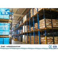 Cheap Heavy Duty Drive In Pallet Rack For Industrial Workshop Optional Color for sale