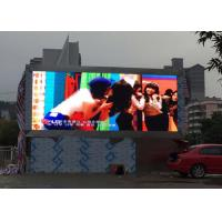 Cheap Outdoor Waterproof Front Service LED Display Screen P10 Nationstar LED 6000 Nits for sale