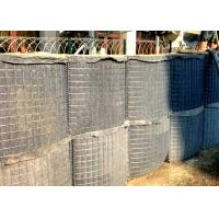 China Zinc Aluminum Alloy Military Hesco Barriers Hesco Defense Wall Welded Mesh on sale