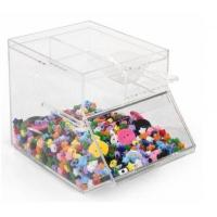 Stackable Acrylic Candy Storage Box Amp Bin With Certificate