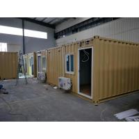 Cheap Modified 3x20ft Premade Container Homes Light Steel Prefab House For Mining Industry for sale