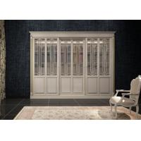 Cheap modern solid maple wooden wardrobe design for sale
