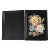 Cheap Colorful Dried Flower Photo Frame Eco Friendly Great For Christmas Decoration for sale