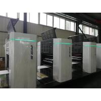 High Accuracy 6 Colour Offset Printing Machine For Corrugated Box PLC Controlled