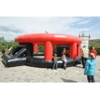 Buy cheap Mobile Interactive Sport Games Inflatable Panna Soccer Cage For Football from wholesalers