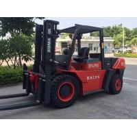 Cheap 8.5 Ton Heavy Duty Forklift, Diesel Engine Forklift Truck Clearance Buffering Structure for sale