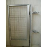 Self Closing Metal Ladder Security Gate / Security Entry Gate For Scaffold
