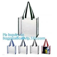 China handle bag&luxury shopping paper bag, pvc simple convenient hoop handle clear zipper cosmetic bag, shoes bag rope handle on sale