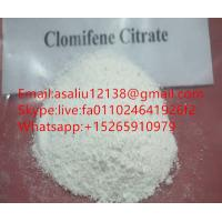 Buy cheap Clomifene Citrate Research Chemical Powders , Anti Estrogen Steroids CAS 54965 from wholesalers