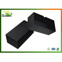Cheap Luxury Black Color Custom Gift Boxes , Sliding Drawer Packaging for sale